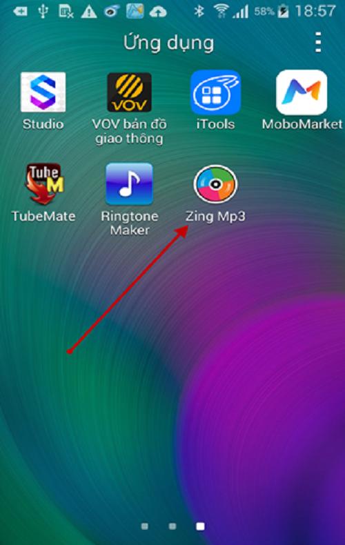 Tải Zing Mp3 cho điện thoại Samsung