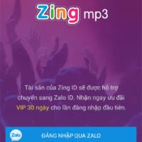 Hướng dẫn đăng kí tài khoản zing mp3