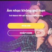 Hướng dẫn đăng kí Zing Vip miễn phí